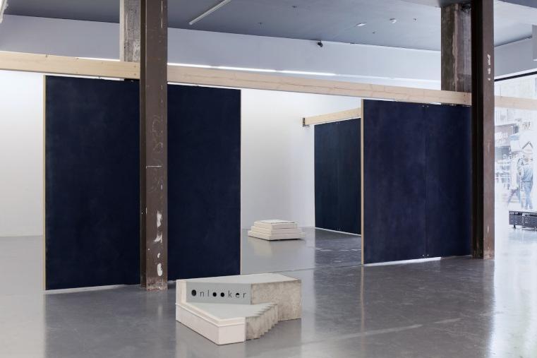 Andreas Kindler von Knobloch + Tanad Williams  Tanad Aaron, Andreas KvK, Staring Forms, Temple Bar Gallery + Studios, 2019, photograph by Kasia Kaminska.