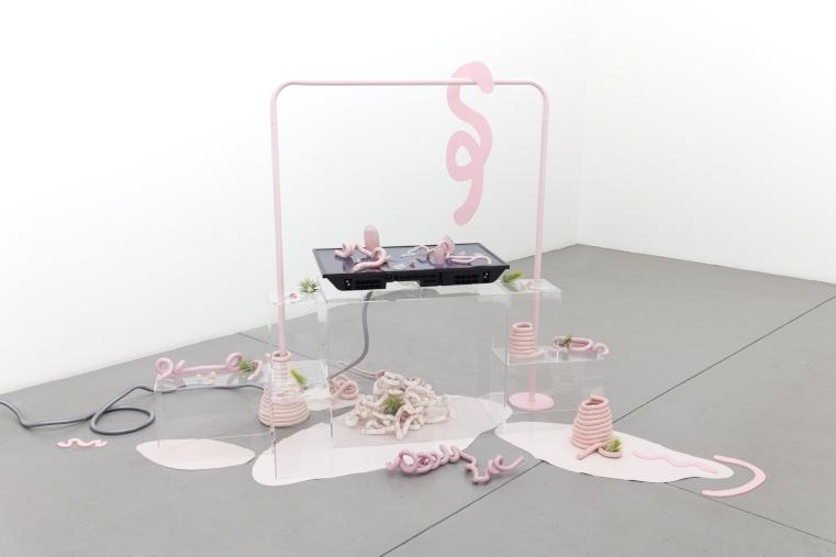 Barbara Knezevic  'Scapes; Rose Quartz, 2019, courtesy Berlin Opticians