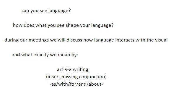 Call for Members: 'Genquent Tongue' Monthly Art Writing Group