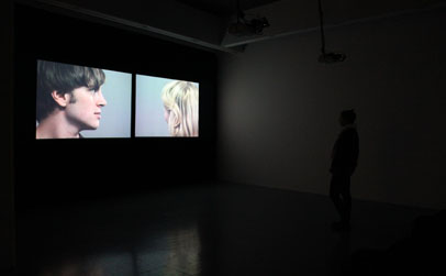 Allan Hughes, 'Point of Audition (Reverse ADR), Two channeled synchronised HD video with monoaural sound, 13m 42s (looped), (2009)