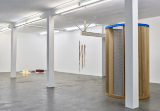 New People, Konrad Fischer, Dusseldorf 2020, installation view