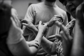 Image: Laura Sarah Dowdall, Running Blind workshop