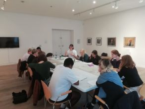 Young Art Writers Programme 2018 Writing workshop with Aidan Wall