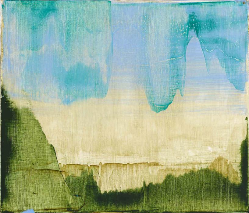 Robert Armstrong  Veil, 2018, oil on linen, 60 x 70 cms
