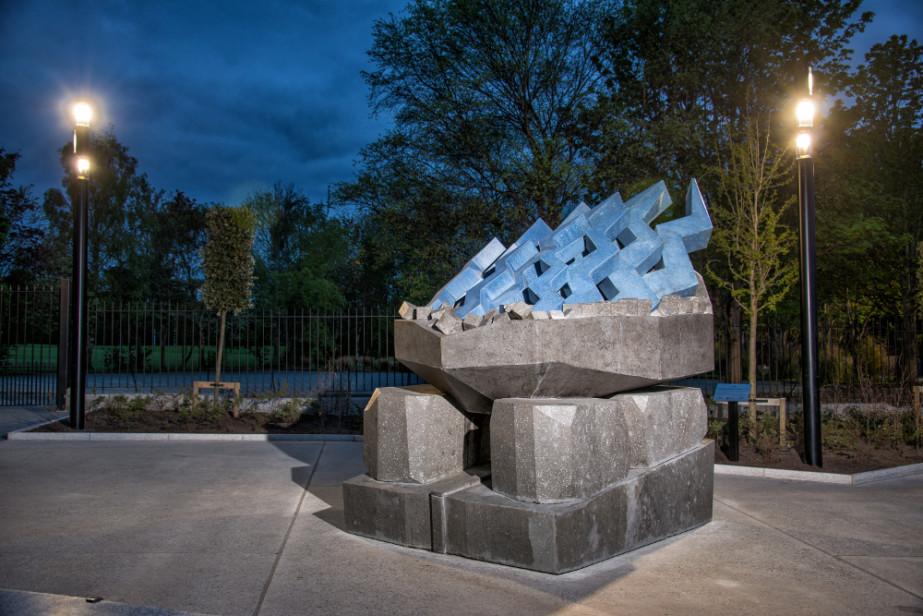 Alice Rekab  Alice Rekab, 'Breaking Emmet's Block', 2017, SDCC - Commemorative Plaza