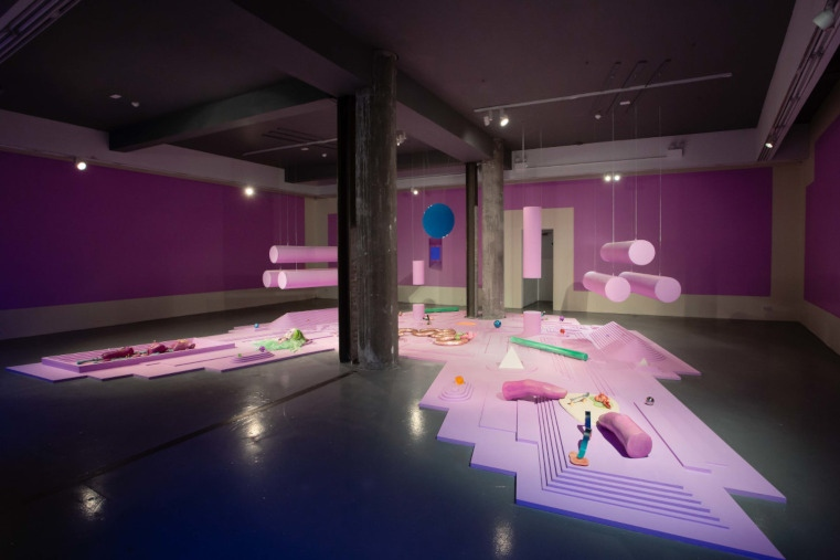 Explore our Exhibition Archive  Tai Shani, Tradogía, Temple Bar Gallery + Studios, Installation view, 2019. Photo: Kasia Kaminska