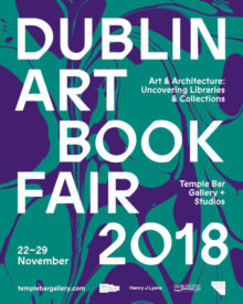 Dublin Art Book Fair 2018 exhibition