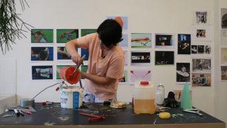 Intentional bodies: Virtual Studio Visit and Workshop with Artist Lynda Devenney