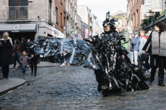 Celina Muldoon, SIRENS II for LIVE COLLISION 2019. Photo: Declan Kelly