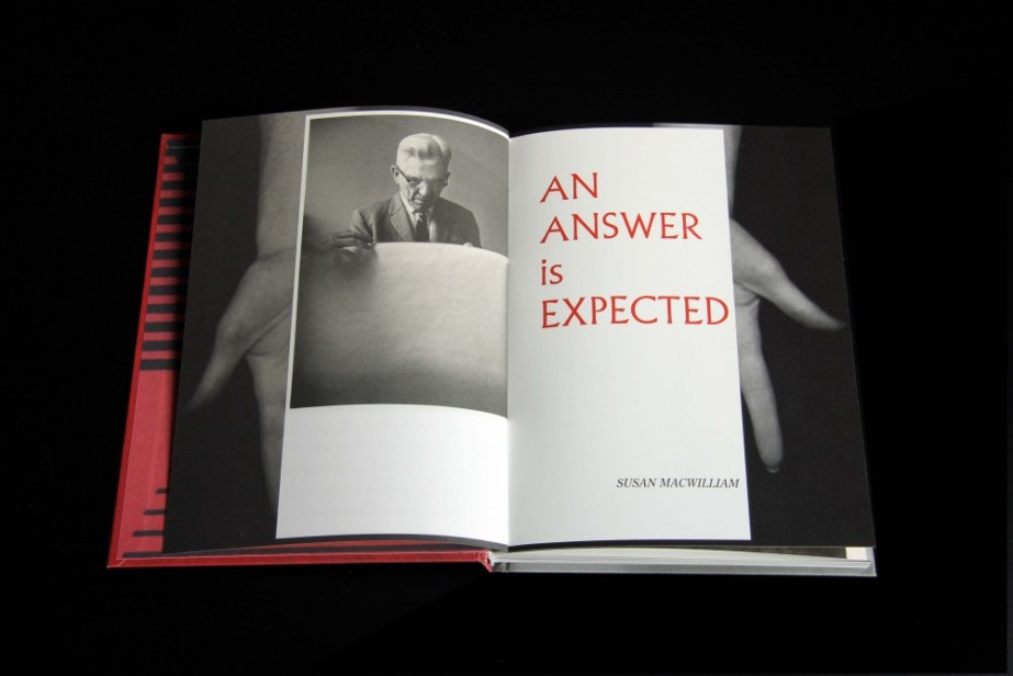 Book Launch: 'AN ANSWER is EXPECTED' by Susan MacWilliam