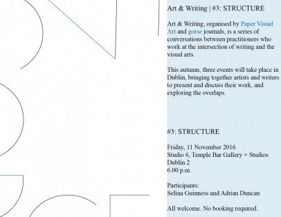 DABF | Art & Writing #3: STRUCTURE