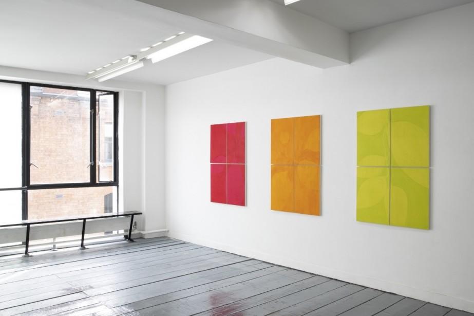 Eve O'Callaghan, Allotment, Studio 16, Temple Bar Gallery + Studios, Installation view, 2021.