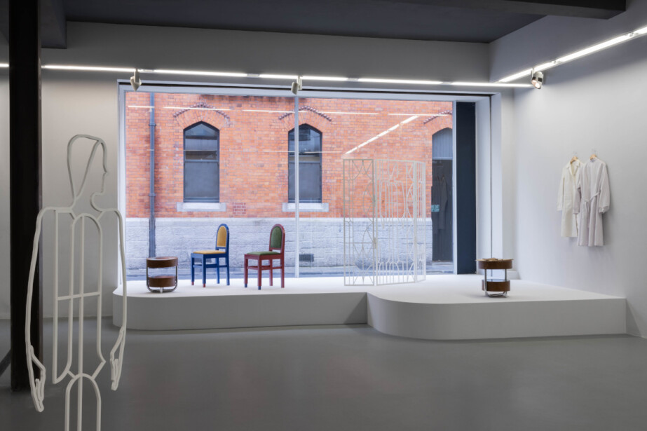 Commissioned Writer: Nicole Flattery 'Look up.'  Temple Bar Gallery + Studios, Installation image, 2021. Photo: Bowe O'Brien Photography
