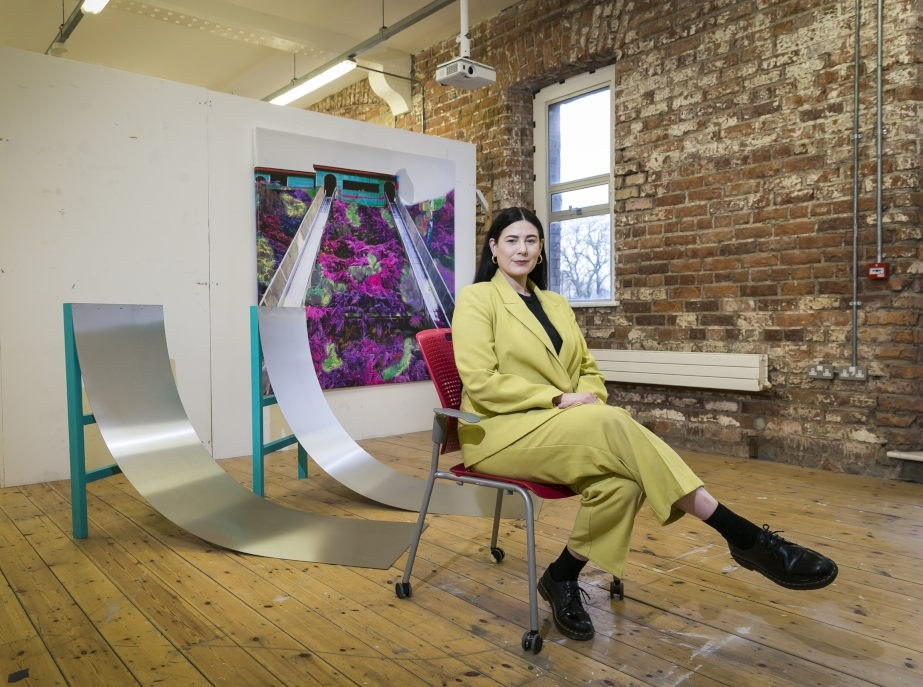 Temple Bar Gallery + Studios announces the Recent Graduate Residency Artist 2021  Michelle Malone photographed by Shane O'Neill, Coalesce Photography.