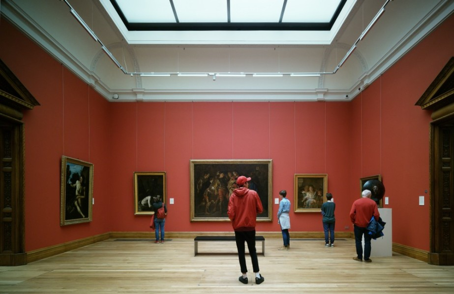 DABF17: TOUR - Passageway to Art: Visit to National Gallery of Ireland  Photo by Marie Louise Halpenny