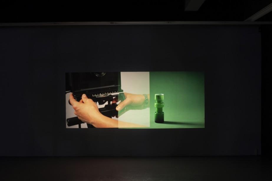 TBG+S Writing Commission: Annemarie Ní Churreáin 'Ode To My Father' in response to Ronan McCrea  Ronan McCrea, Efference Copy Mechanism, Installation view, 2019, Temple Bar Gallery + Studios. Photo: Kasia Kaminska