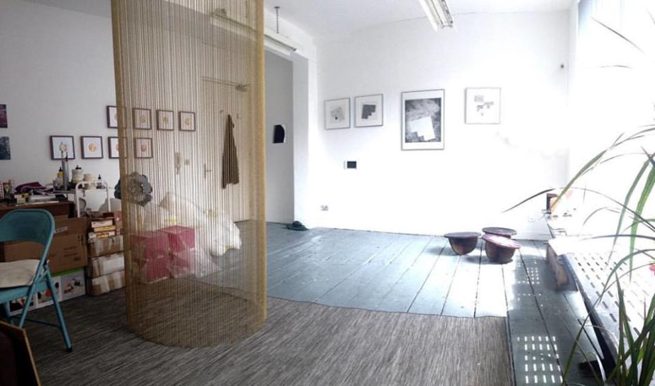 Supporters + Friends: Coffee Morning + Studio Visits at RHA and TBG+S  Lucy McKenna's studio at Temple Bar Gallery + Studios.